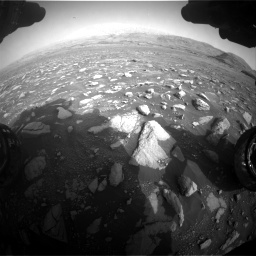 Nasa's Mars rover Curiosity acquired this image using its Front Hazard Avoidance Camera (Front Hazcam) on Sol 2967, at drive 1168, site number 84