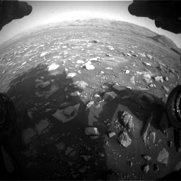 Nasa's Mars rover Curiosity acquired this image using its Front Hazard Avoidance Camera (Front Hazcam) on Sol 2967, at drive 1180, site number 84