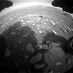 Nasa's Mars rover Curiosity acquired this image using its Front Hazard Avoidance Camera (Front Hazcam) on Sol 2967, at drive 1192, site number 84