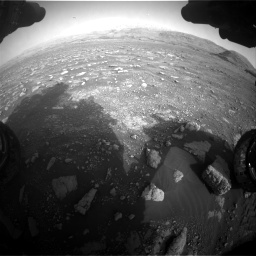 Nasa's Mars rover Curiosity acquired this image using its Front Hazard Avoidance Camera (Front Hazcam) on Sol 2967, at drive 1216, site number 84
