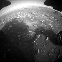 Nasa's Mars rover Curiosity acquired this image using its Front Hazard Avoidance Camera (Front Hazcam) on Sol 2967, at drive 1252, site number 84