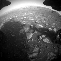 Nasa's Mars rover Curiosity acquired this image using its Front Hazard Avoidance Camera (Front Hazcam) on Sol 2967, at drive 1288, site number 84