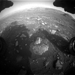 Nasa's Mars rover Curiosity acquired this image using its Front Hazard Avoidance Camera (Front Hazcam) on Sol 2967, at drive 1300, site number 84