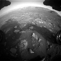 Nasa's Mars rover Curiosity acquired this image using its Front Hazard Avoidance Camera (Front Hazcam) on Sol 2967, at drive 1324, site number 84