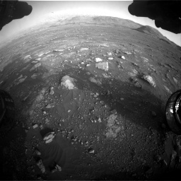 Nasa's Mars rover Curiosity acquired this image using its Front Hazard Avoidance Camera (Front Hazcam) on Sol 2967, at drive 1348, site number 84
