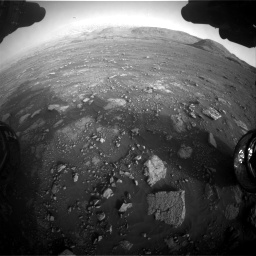 Nasa's Mars rover Curiosity acquired this image using its Front Hazard Avoidance Camera (Front Hazcam) on Sol 2967, at drive 1354, site number 84