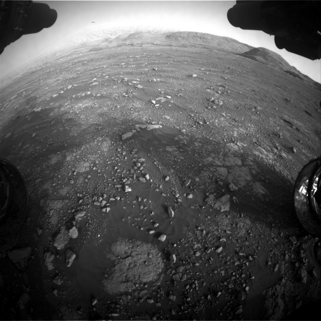 Nasa's Mars rover Curiosity acquired this image using its Front Hazard Avoidance Camera (Front Hazcam) on Sol 2967, at drive 1360, site number 84