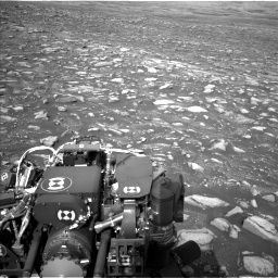 Nasa's Mars rover Curiosity acquired this image using its Left Navigation Camera on Sol 2967, at drive 1156, site number 84
