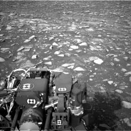 Nasa's Mars rover Curiosity acquired this image using its Left Navigation Camera on Sol 2967, at drive 1192, site number 84
