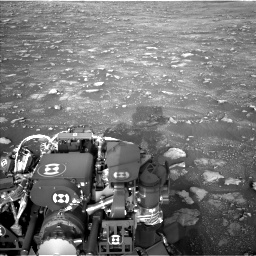Nasa's Mars rover Curiosity acquired this image using its Left Navigation Camera on Sol 2967, at drive 1348, site number 84