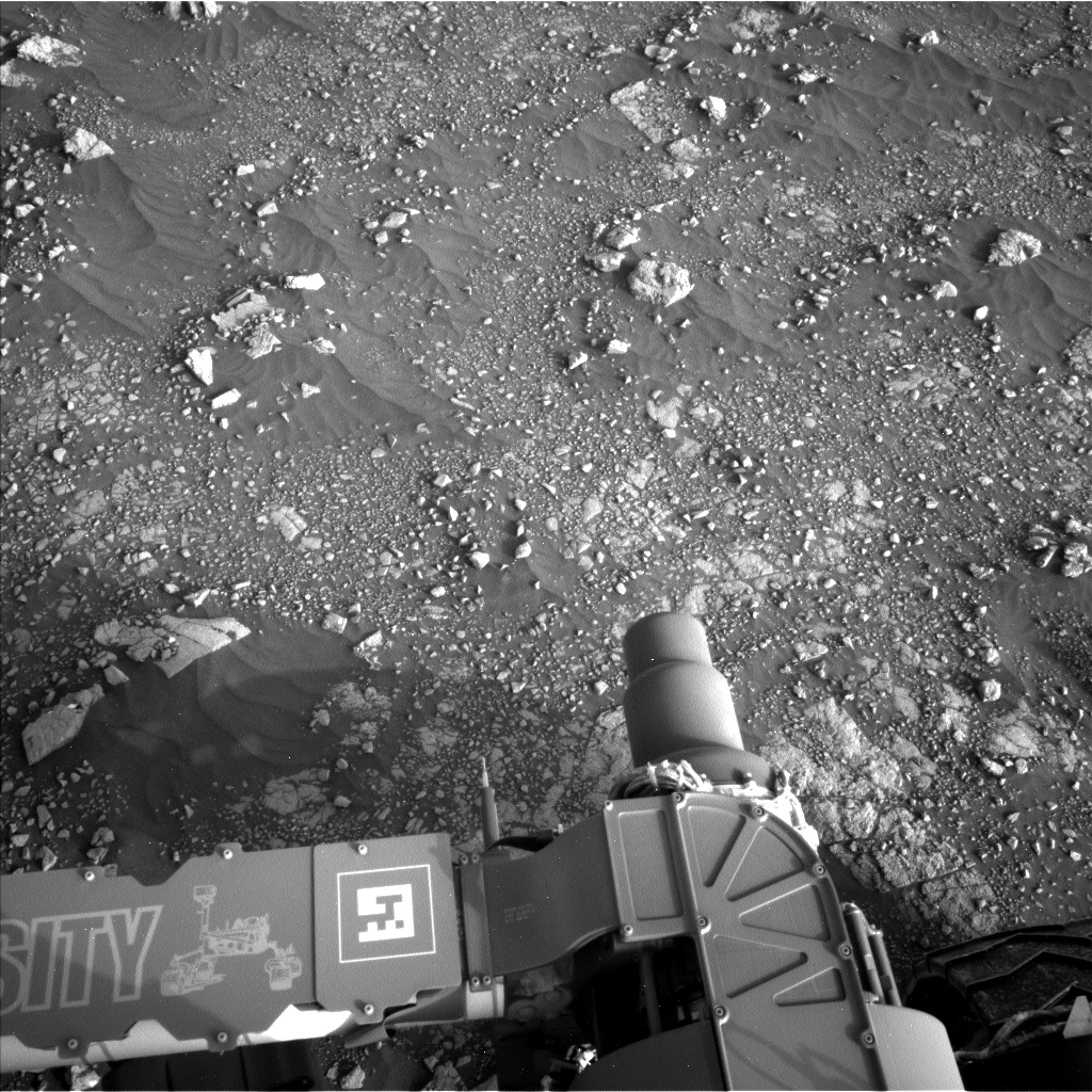 Nasa's Mars rover Curiosity acquired this image using its Left Navigation Camera on Sol 2967, at drive 1360, site number 84