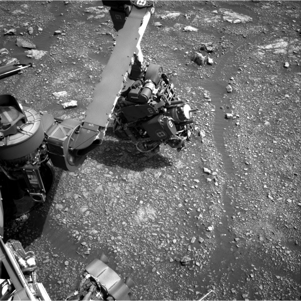 Nasa's Mars rover Curiosity acquired this image using its Right Navigation Camera on Sol 2967, at drive 1030, site number 84