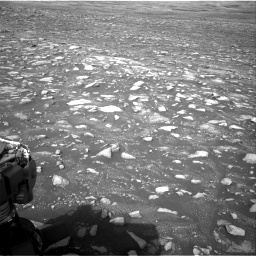 Nasa's Mars rover Curiosity acquired this image using its Right Navigation Camera on Sol 2967, at drive 1168, site number 84