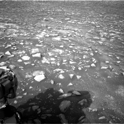 Nasa's Mars rover Curiosity acquired this image using its Right Navigation Camera on Sol 2967, at drive 1204, site number 84