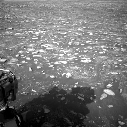 Nasa's Mars rover Curiosity acquired this image using its Right Navigation Camera on Sol 2967, at drive 1240, site number 84