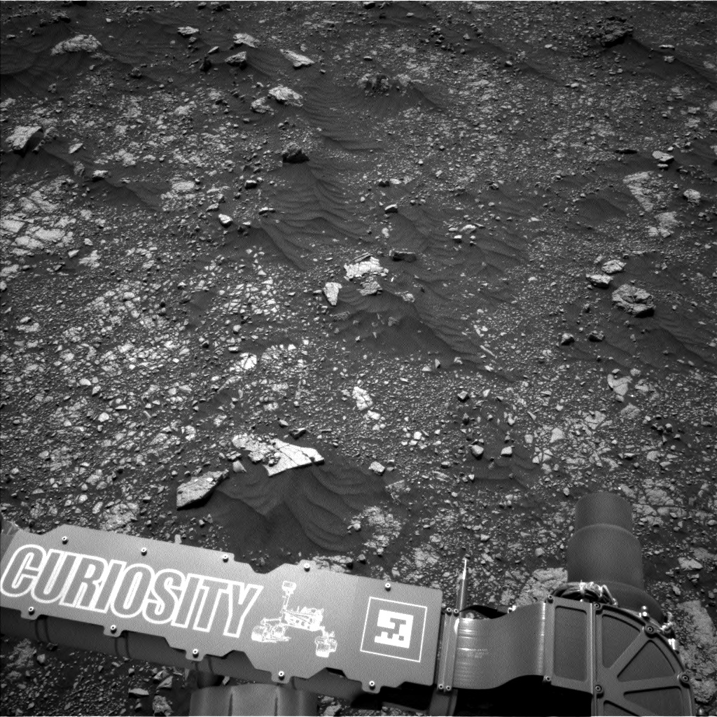 Nasa's Mars rover Curiosity acquired this image using its Left Navigation Camera on Sol 2968, at drive 1360, site number 84