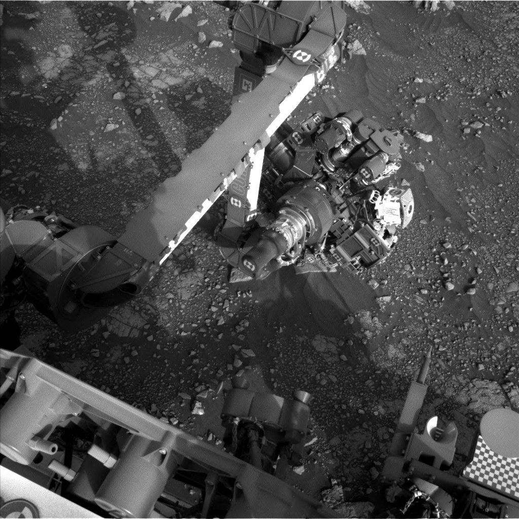 Nasa's Mars rover Curiosity acquired this image using its Left Navigation Camera on Sol 2969, at drive 1360, site number 84