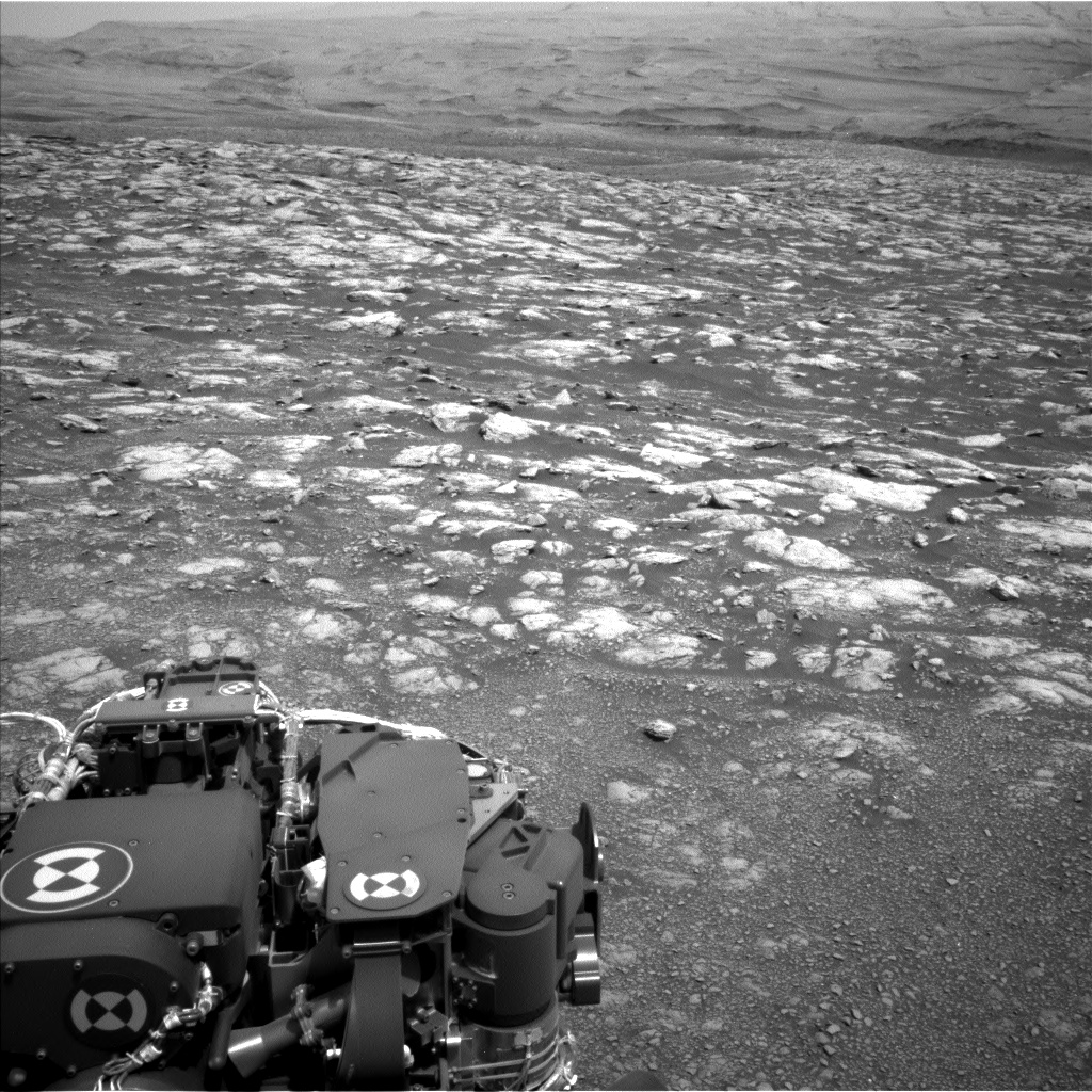 Nasa's Mars rover Curiosity acquired this image using its Left Navigation Camera on Sol 2970, at drive 1492, site number 84