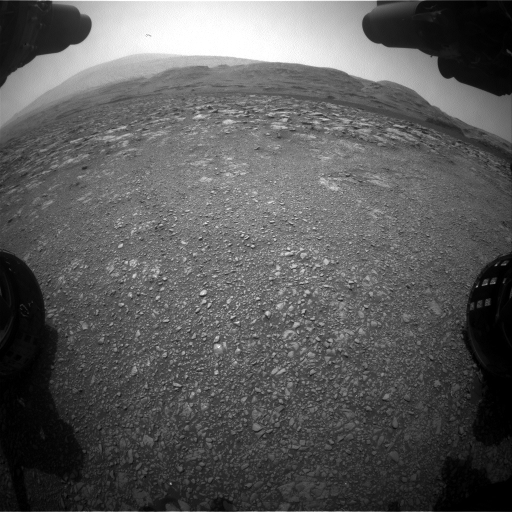Nasa's Mars rover Curiosity acquired this image using its Front Hazard Avoidance Camera (Front Hazcam) on Sol 2971, at drive 1492, site number 84