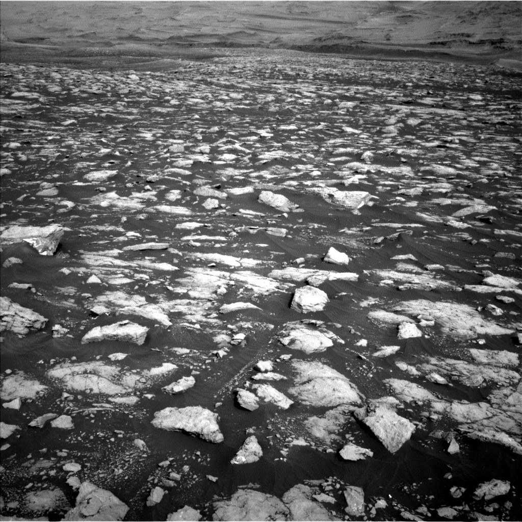 Nasa's Mars rover Curiosity acquired this image using its Left Navigation Camera on Sol 2972, at drive 1594, site number 84