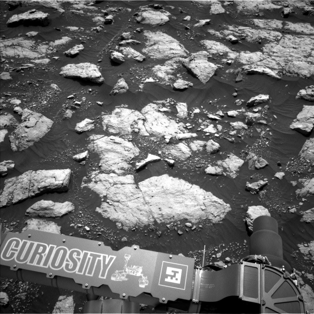 Nasa's Mars rover Curiosity acquired this image using its Left Navigation Camera on Sol 2973, at drive 1594, site number 84