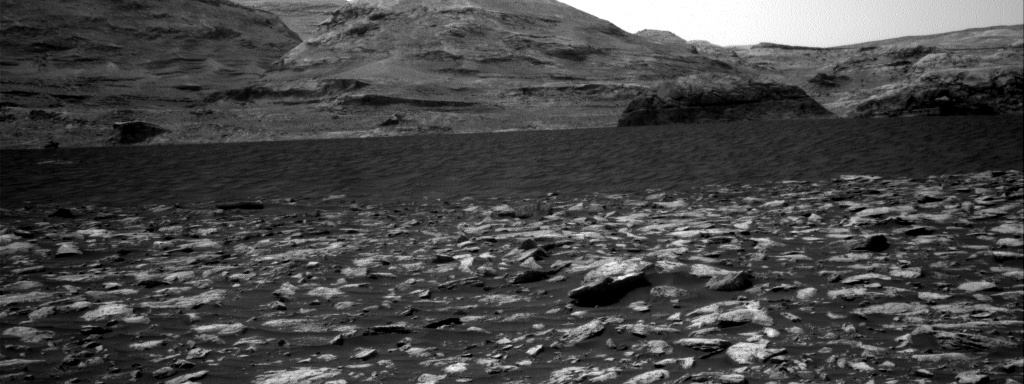 Nasa's Mars rover Curiosity acquired this image using its Right Navigation Camera on Sol 2973, at drive 1594, site number 84