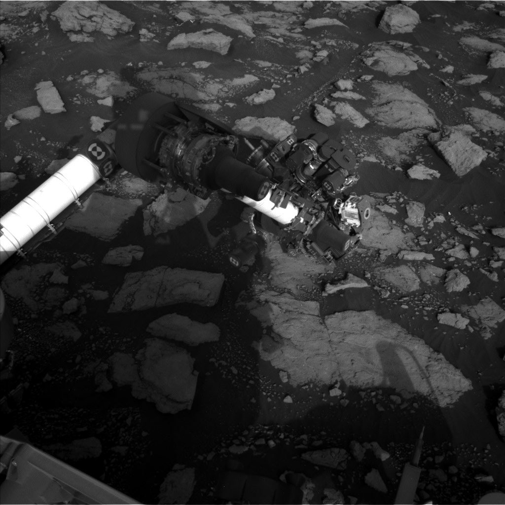 Nasa's Mars rover Curiosity acquired this image using its Left Navigation Camera on Sol 2974, at drive 1594, site number 84