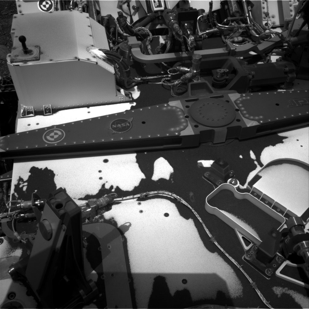 Nasa's Mars rover Curiosity acquired this image using its Right Navigation Camera on Sol 2974, at drive 1594, site number 84