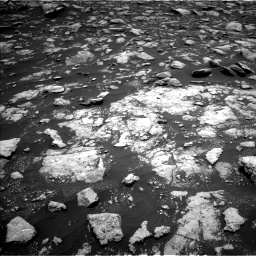 Nasa's Mars rover Curiosity acquired this image using its Left Navigation Camera on Sol 2977, at drive 1618, site number 84