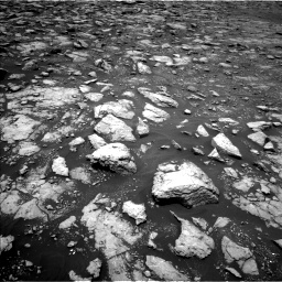 Nasa's Mars rover Curiosity acquired this image using its Left Navigation Camera on Sol 2977, at drive 1654, site number 84
