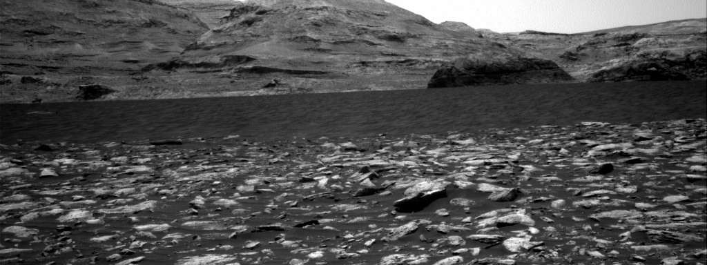 Nasa's Mars rover Curiosity acquired this image using its Right Navigation Camera on Sol 2977, at drive 1594, site number 84