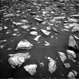 Nasa's Mars rover Curiosity acquired this image using its Left Navigation Camera on Sol 2979, at drive 1852, site number 84