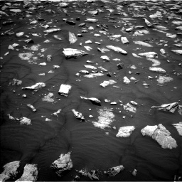 Nasa's Mars rover Curiosity acquired this image using its Left Navigation Camera on Sol 2979, at drive 1900, site number 84