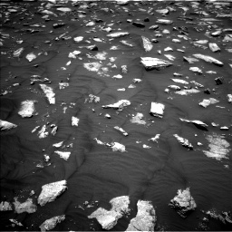 Nasa's Mars rover Curiosity acquired this image using its Left Navigation Camera on Sol 2979, at drive 1906, site number 84