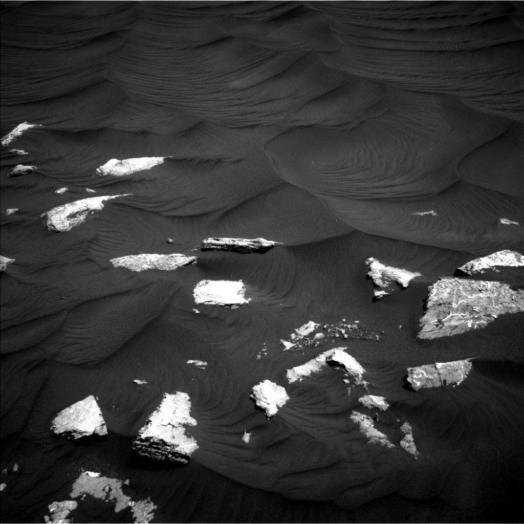 Nasa's Mars rover Curiosity acquired this image using its Left Navigation Camera on Sol 2979, at drive 2002, site number 84