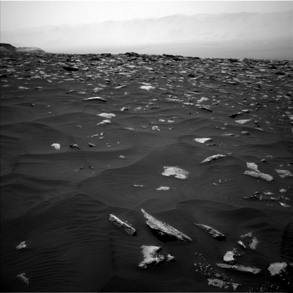 Nasa's Mars rover Curiosity acquired this image using its Left Navigation Camera on Sol 2979, at drive 2044, site number 84