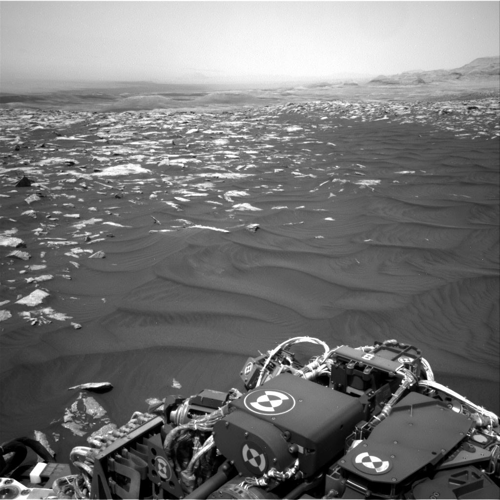 Nasa's Mars rover Curiosity acquired this image using its Right Navigation Camera on Sol 2979, at drive 2044, site number 84