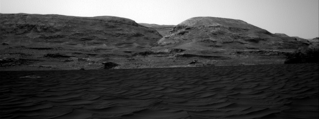 Nasa's Mars rover Curiosity acquired this image using its Right Navigation Camera on Sol 2989, at drive 2044, site number 84