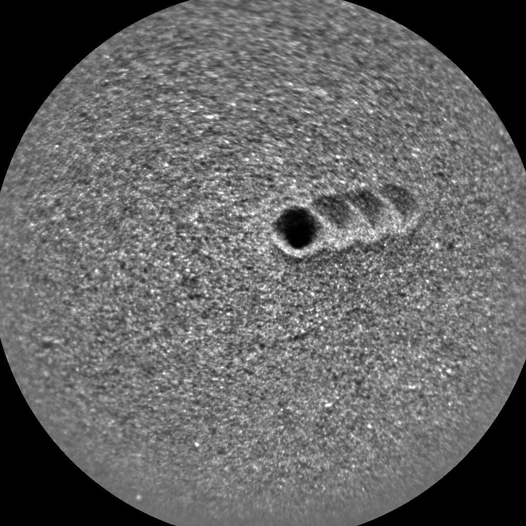 Nasa's Mars rover Curiosity acquired this image using its Chemistry & Camera (ChemCam) on Sol 2993, at drive 2120, site number 84
