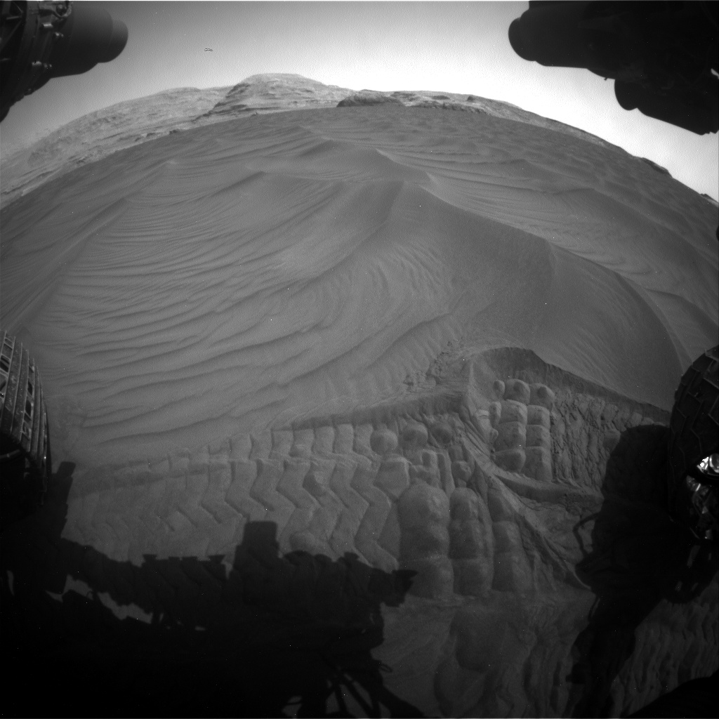 Nasa's Mars rover Curiosity acquired this image using its Front Hazard Avoidance Camera (Front Hazcam) on Sol 2995, at drive 2138, site number 84
