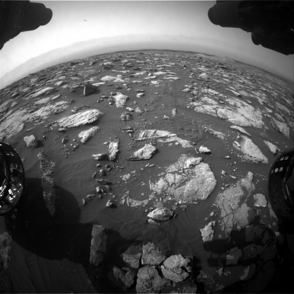 Nasa's Mars rover Curiosity acquired this image using its Front Hazard Avoidance Camera (Front Hazcam) on Sol 2995, at drive 2352, site number 84