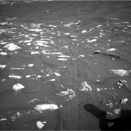 Nasa's Mars rover Curiosity acquired this image using its Left Navigation Camera on Sol 2995, at drive 2262, site number 84