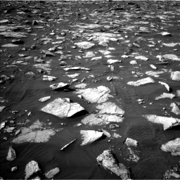 Nasa's Mars rover Curiosity acquired this image using its Left Navigation Camera on Sol 2995, at drive 2286, site number 84