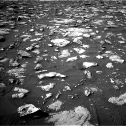 Nasa's Mars rover Curiosity acquired this image using its Left Navigation Camera on Sol 2995, at drive 2298, site number 84