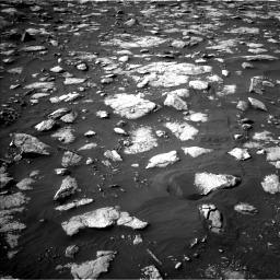 Nasa's Mars rover Curiosity acquired this image using its Left Navigation Camera on Sol 2995, at drive 2304, site number 84