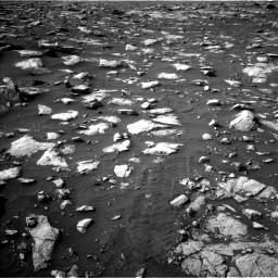 Nasa's Mars rover Curiosity acquired this image using its Left Navigation Camera on Sol 2995, at drive 2352, site number 84