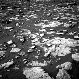 Nasa's Mars rover Curiosity acquired this image using its Right Navigation Camera on Sol 2995, at drive 2328, site number 84