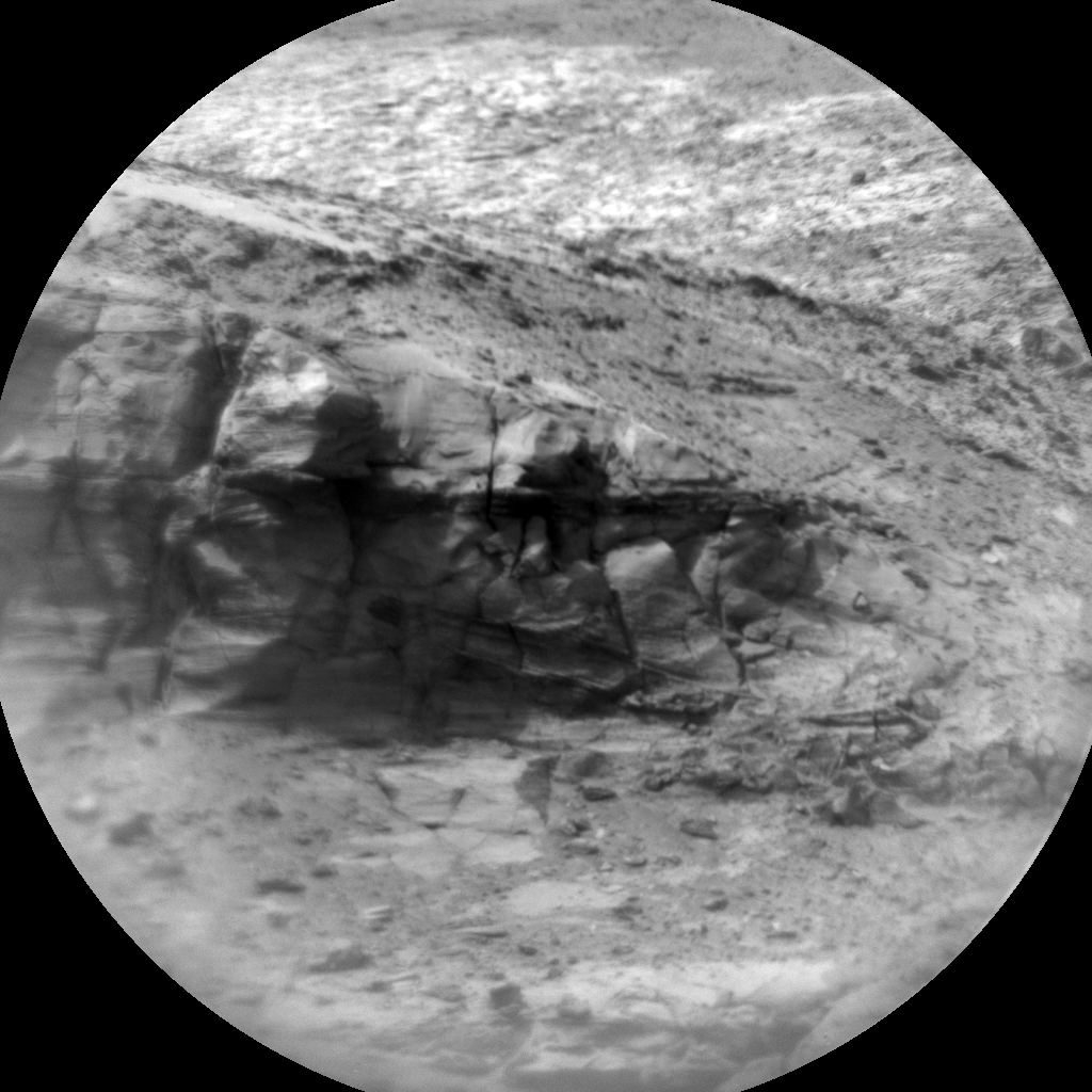 Nasa's Mars rover Curiosity acquired this image using its Chemistry & Camera (ChemCam) on Sol 2998, at drive 2352, site number 84