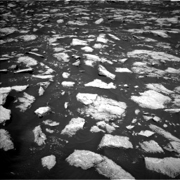 Nasa's Mars rover Curiosity acquired this image using its Left Navigation Camera on Sol 3000, at drive 2412, site number 84