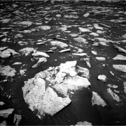 Nasa's Mars rover Curiosity acquired this image using its Left Navigation Camera on Sol 3000, at drive 2424, site number 84